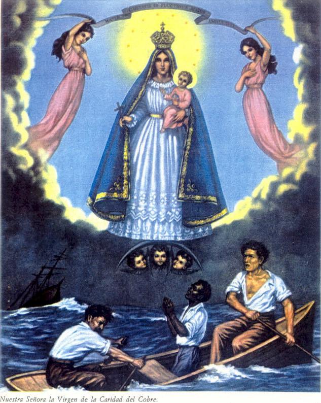 La Virgen De Caridad Cuba